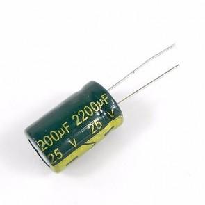 Condensateur low ESR 2200UF 25V