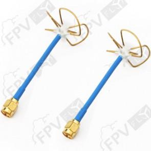 Set d'antennes TX/RX Cloverleaf 5.8 Ghz – SMA