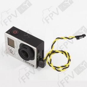Câble vidéo GoPro Hero3/CamOne Infinity