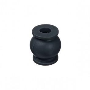 4 dampers en silicone noir