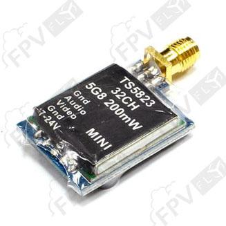 Emetteur vidéo micro 5.8 Ghz 32Ch