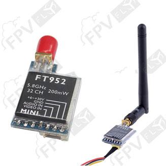 Emetteur vidéo micro universel 200mw 5.8 Ghz 32 Ch