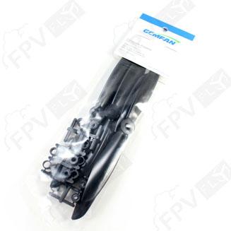 4 hélices GemFan 6x4.5 Noire - 6045R