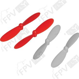Set d'hélices de rechange pour Hubsan X4 FPV H107D
