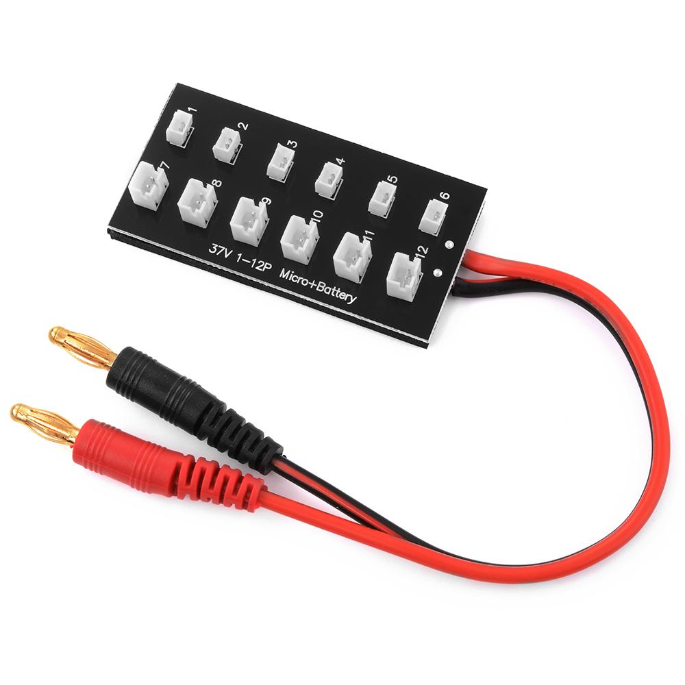 ParaBoard 1S 3.7V 12-Batteries en parallèle Ultra Micro/JST-PH