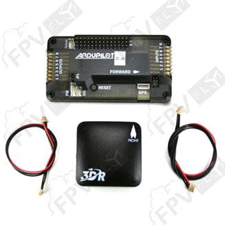 Kit APM 2.6 + GPS uBlox LEA-6 avec compass (original)