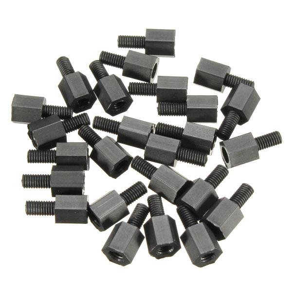 Entretoise Hexagonale M3x6+6 - 10 pcs