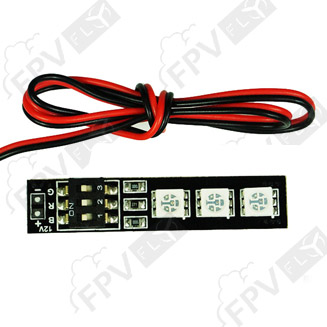 LED RGB 5050 7 couleurs 12V avec DIP Switch