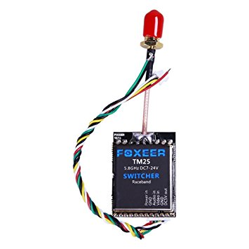 Foxeer 5.8G 40CH TM25 SWITCHER 25/200/600mW adjustable