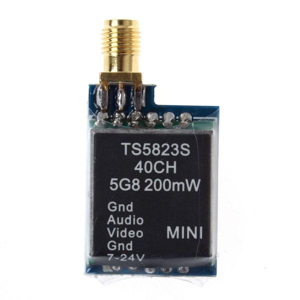 TS5823S 5.8 GHz 40 CH 200mW RaceBand
