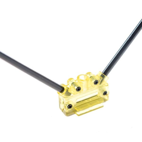 Support V d'antenne pour récepteur