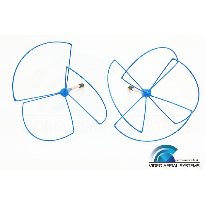 1.2 GHz RHCP BlueBeam Whip Set (IBCrazy)