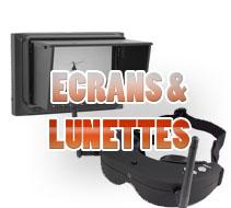 Ecrans et lunettes