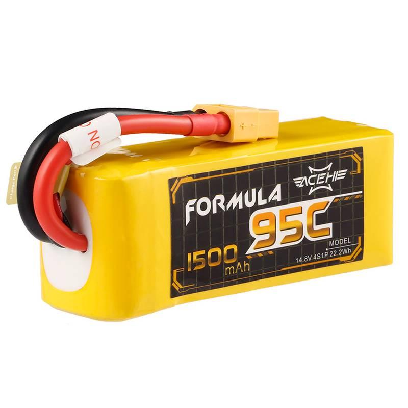 LiPo Acehe 4S 14.8v 95-190C 1500mah Formula Series