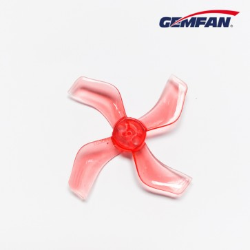 Gemfan 1636 quadripales 40mm (1mm fit) - Rouge