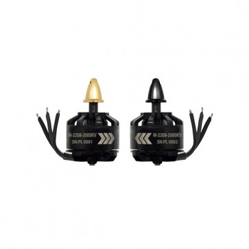 Scorpion MII-2208-2000kv - 2pcs (Stealth Edition)
