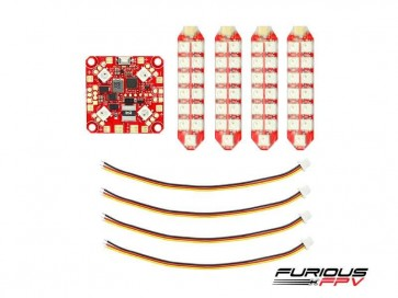 FuriousFPV Lightning PDB - Dual Row LED Strip