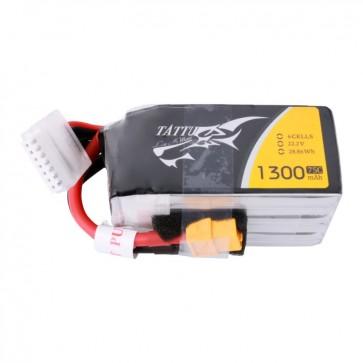 Batterie Lipo Tattu 1300mAh 22.2V 75C 6S - XT60