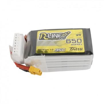 Tattu R-Line 650mAh 22.2V 95C 6S - XT30U-F