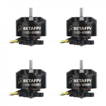 BETAFPV 4pcs 1105 6000KV Brushless Motor