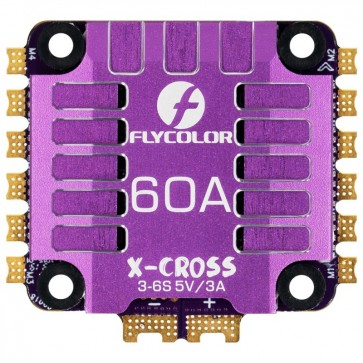 FLYCOLOR X-CROSS 60A 4in1 DS1200 BLHeli 32 2-6S