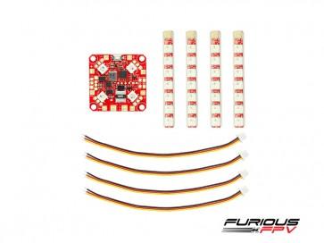 FuriousFPV Lightning PDB - Single Row LED Strip