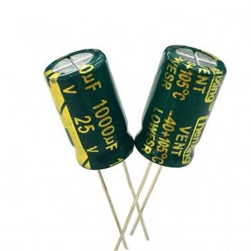 Condensateur low ESR 1000UF 25V Sanyo