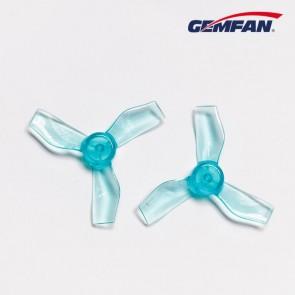 GEMFAN 1219-3 31MM 0.8MM SHAFT - Bleu