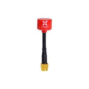 2pcs - Foxeer Lollipop V2 2.5DBi 5.8G RHCP - MMCX/RPSMA/SMA/UFL - Rouge