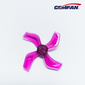 Gemfan 1636 quadripales 40mm (1.5mm fit) - Purple