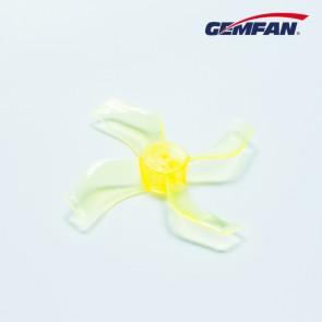 Gemfan 1636 quadripales 40mm (1.5mm fit) - Jaune