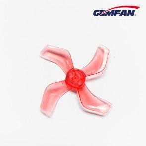 Gemfan 1636 quadripales 40mm (1mm fit) - Rouge