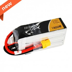 Batterie Lipo Tattu 1800mAh 22.2V 45C 6S - XT60