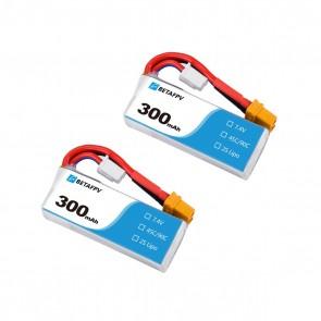 BETAFPV 300mAh 2S 45C Lipo Battery (2PCS) - XT30