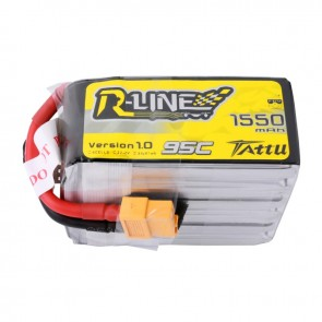 Tattu R-Line Version 1550mAh 22.2V 95C 6S - XT60