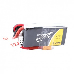 Batterie Lipo Tattu 450mAh 7.4V 45C 2S