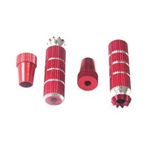 Embouts de stick M3 Rouge - longs