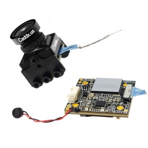 Caddx Turtle V2 1080p 60fps Mini HD FPV Camera w/ DVR - Noir