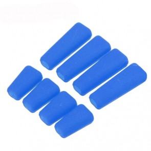 8pcs protection silicone pour inter. radio FrSky, Wfly, Futaba