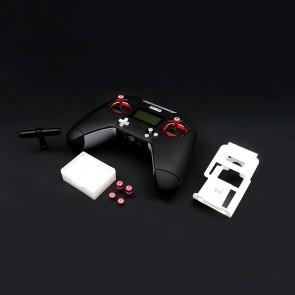 Noir ou Rouge - FrSky Taranis X-Lite COMBO avec antenne T + BRACE Lite  + embouts stick Long + Short