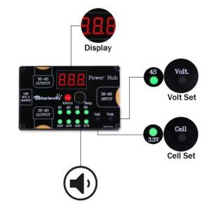 Rcharlance Power HUB XT60 2X25V QC3.0 9V 2A 5V 3A