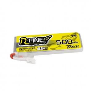 Batterie Lipo Tattu 1S 500mAh 95C - 1 pièce