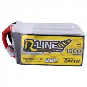 Tattu R-Line Version 1800mAh 22.2V 95C 6S - XT60