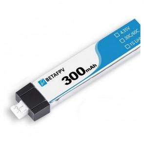 Batterie LiPo BETAFPV 300mAh 1S 30/70C HV