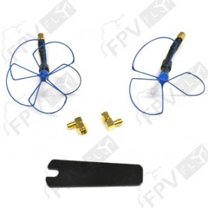 2.4GHz SET D'ANTENNES BLUEBEAM ULTRA (IBCRAZY)