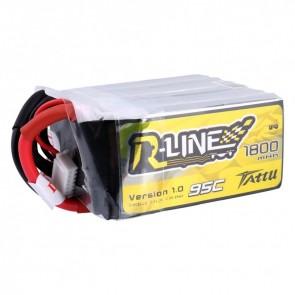Batterie Lipo Tattu R-Line 1800mAh 95C 4S - XT60