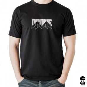 T-Shirt Drone Doom - Noir