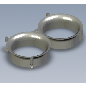 Conduits Geyser TPU - 3D parts