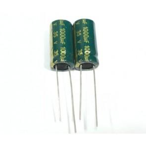 Condensateur low ESR 1000UF 35V Sanyo