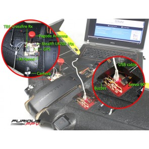 Autopilote pour aile volante - FuriousFPV F-35 Lightning FULL OPTIONS (horizontal)
